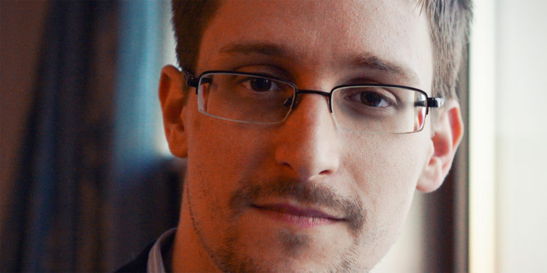 Watch Snowden sound off on Trump live on November 10