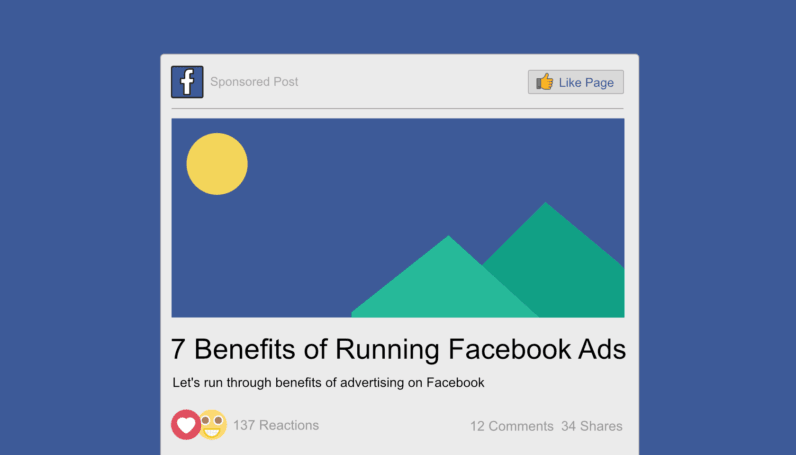 Seven Benefits of Using Facebook Ads