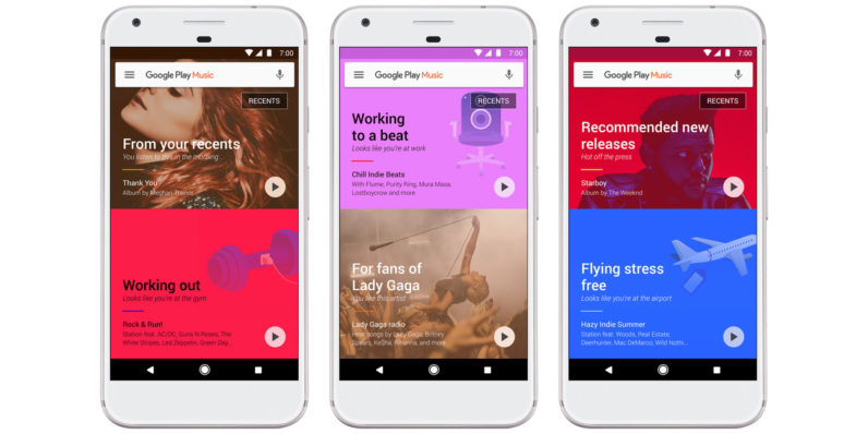 Google supercharges Play Music with machine learning for smarter recommendations