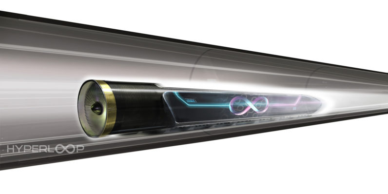 Hyperloop One wants to build its first 500mph train in Dubai