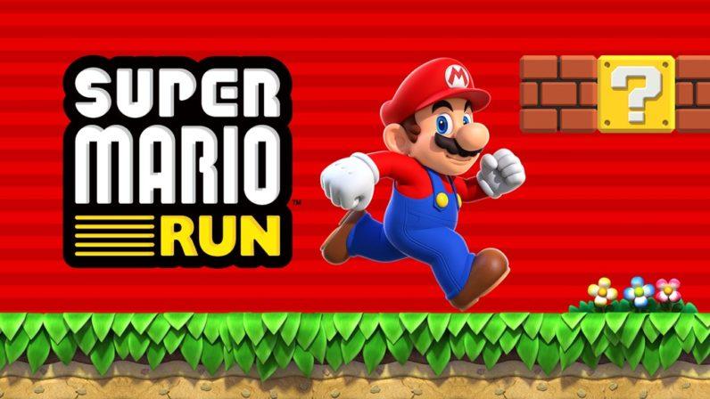 super mario, super mario run