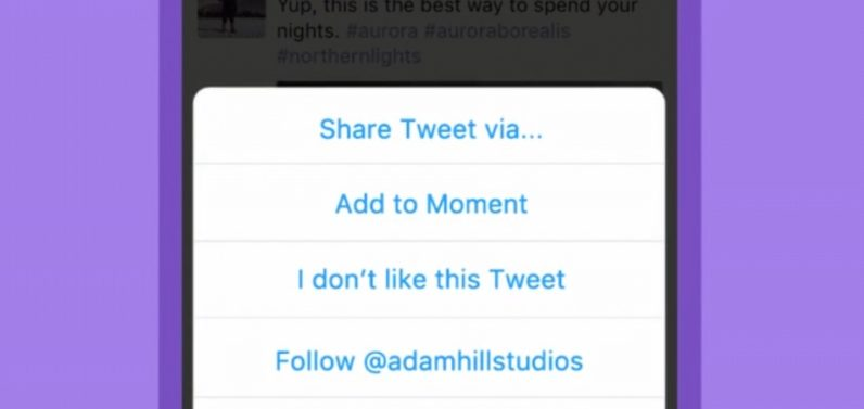 Twitter now lets you create Moments on your phone