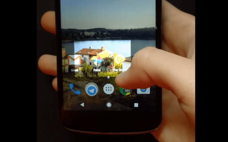 android nougat, screenshot feature
