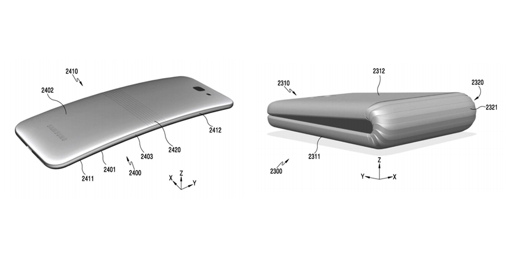 Samsung may bounce back from volatile Note 7 with new bendable phone