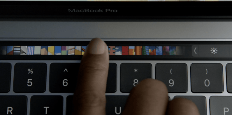 macbook pro, touch bar, apple, law
