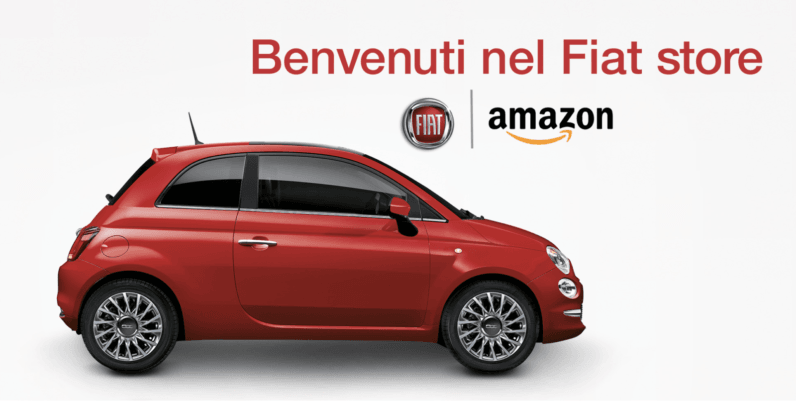 Amazon is now selling cars — but only in Italy (for now)