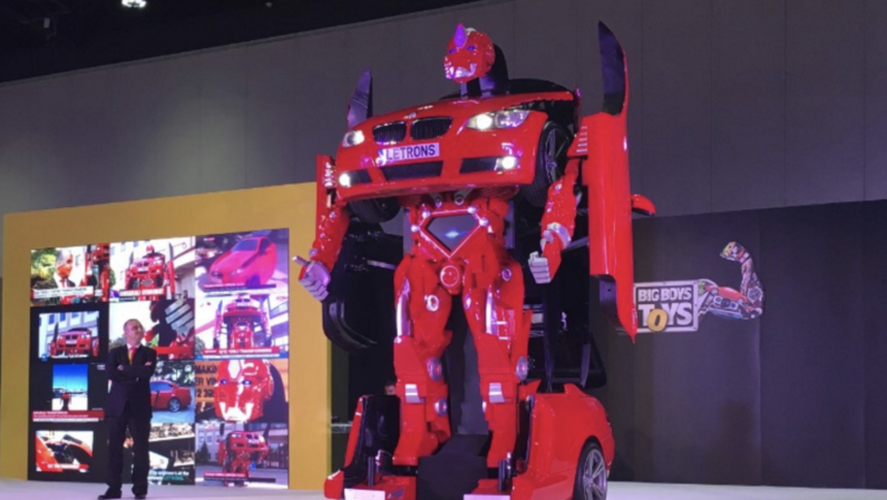 A Turkish startup made a real life Transformer — and it's up for auction