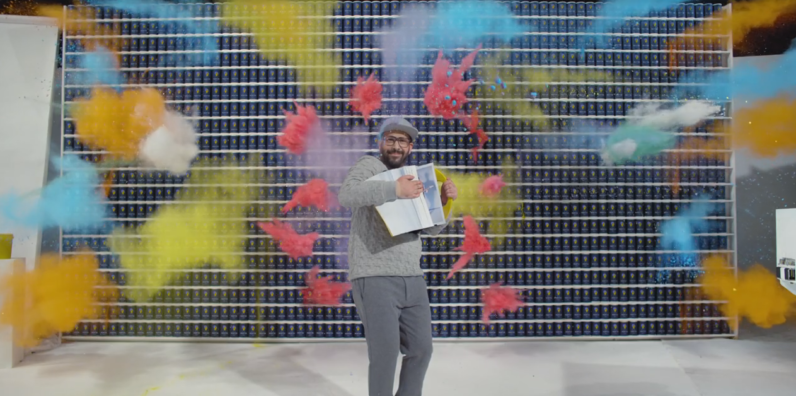 ok go, music video, 4 seconds