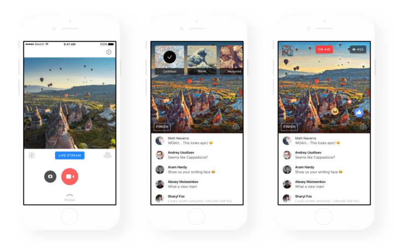 Prisma's painting-like video filters now work on Facebook Live
