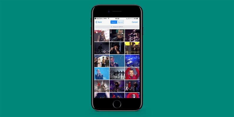 WhatsApp for iOS joins the GIF party with a ton of new features