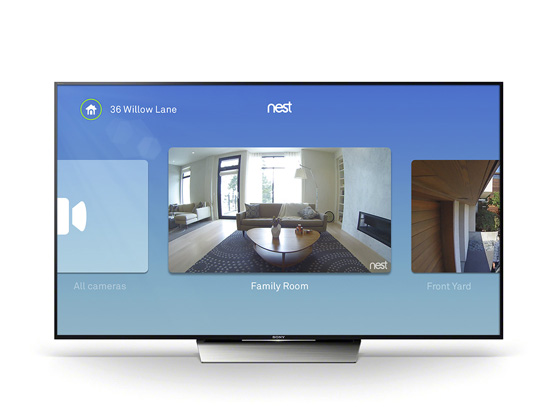 Nest Cam now lets you see who's at the door through your Android TV
