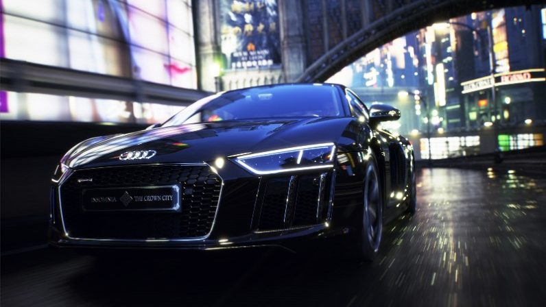 audi r8, final fantasy, special edition