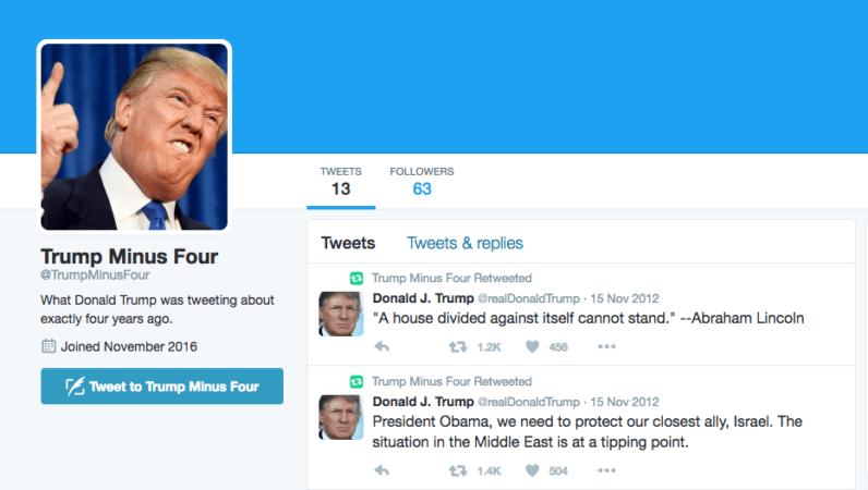 donald trump president twitter