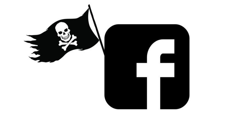 facebook music group piracy
