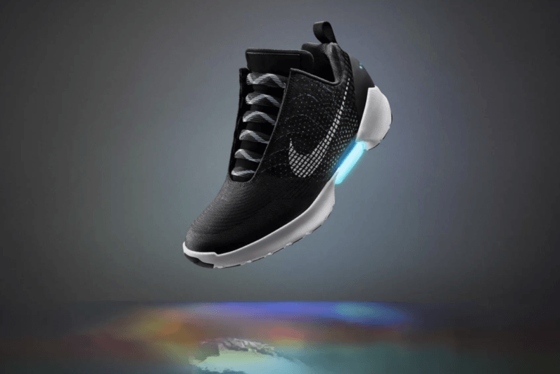 You can get Nike's self-lacing shoe December 1 (if you have deep pockets)
