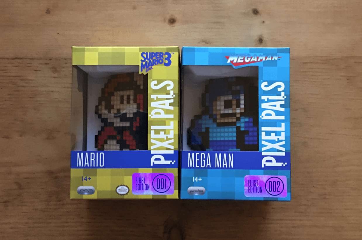 Pixel Pals are the perfect stocking stuffer for the geek in your life
