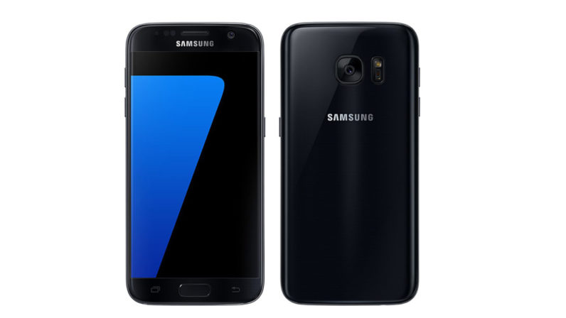 samsung, galaxy s7, jet black, black color