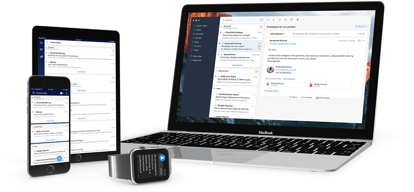The best email app on iOS just got a desktop version