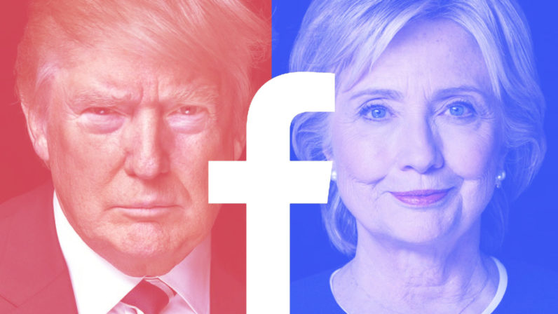 donald trump, hillary clinton, social media, facebook, twitter, social media