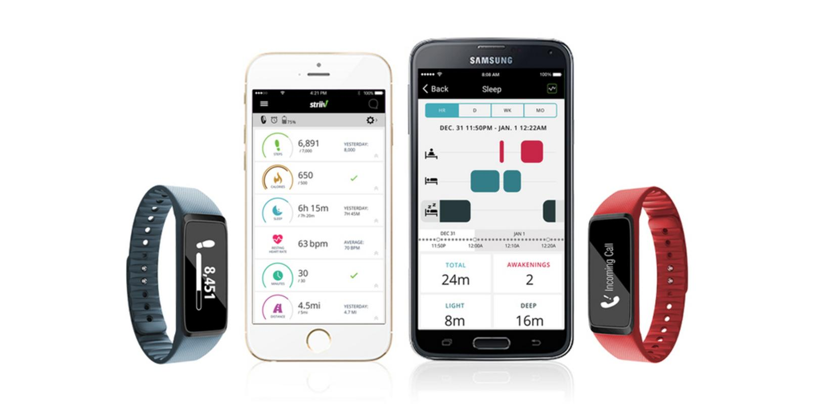 The Striiv Fusion Activity & Sleep Tracker is the perfect stocking stuffer for the health nuts in your life