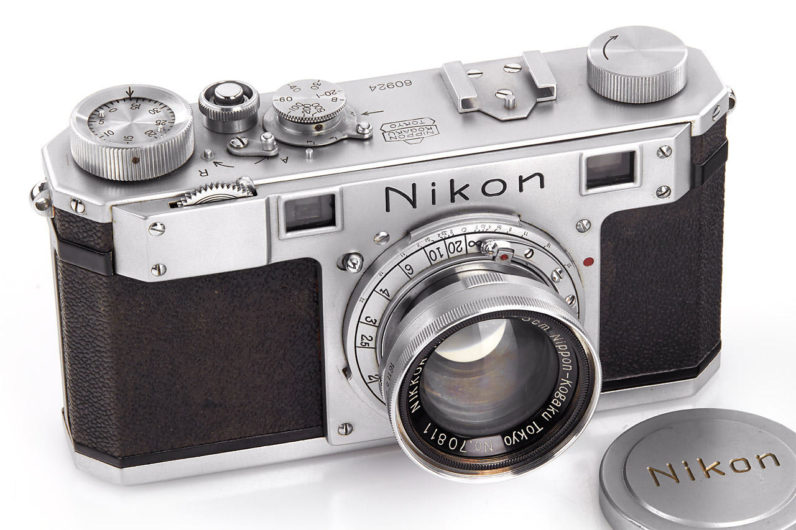 nikon, auction