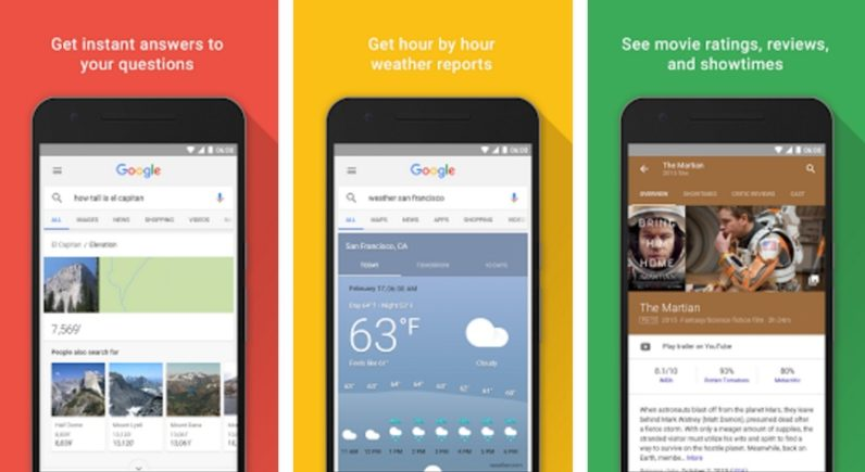 The Google app will now split your updates into two separate feeds