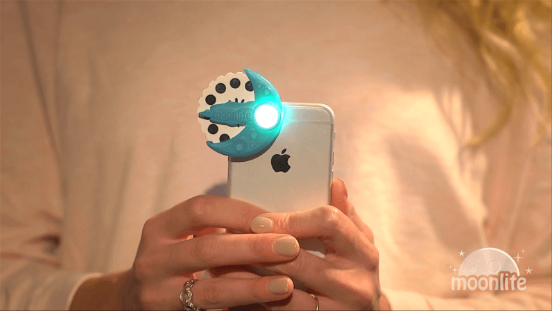 Moonlite, A Kickstarter Project That Turns Your Phone Into A Bedtime Story Projector