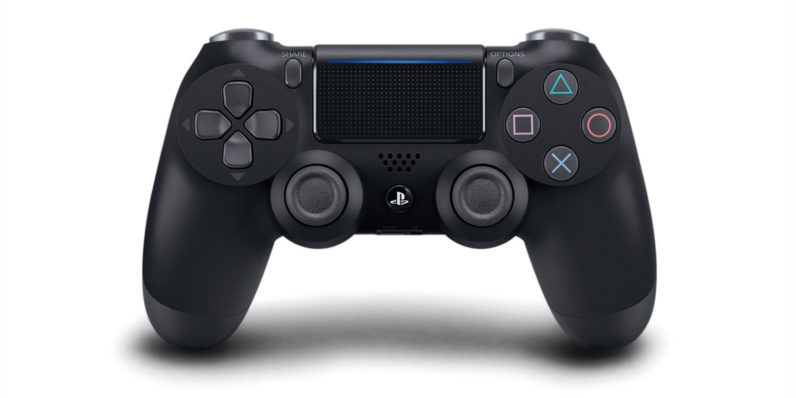 The PS4 controller will work with PS5, but not PS5 games