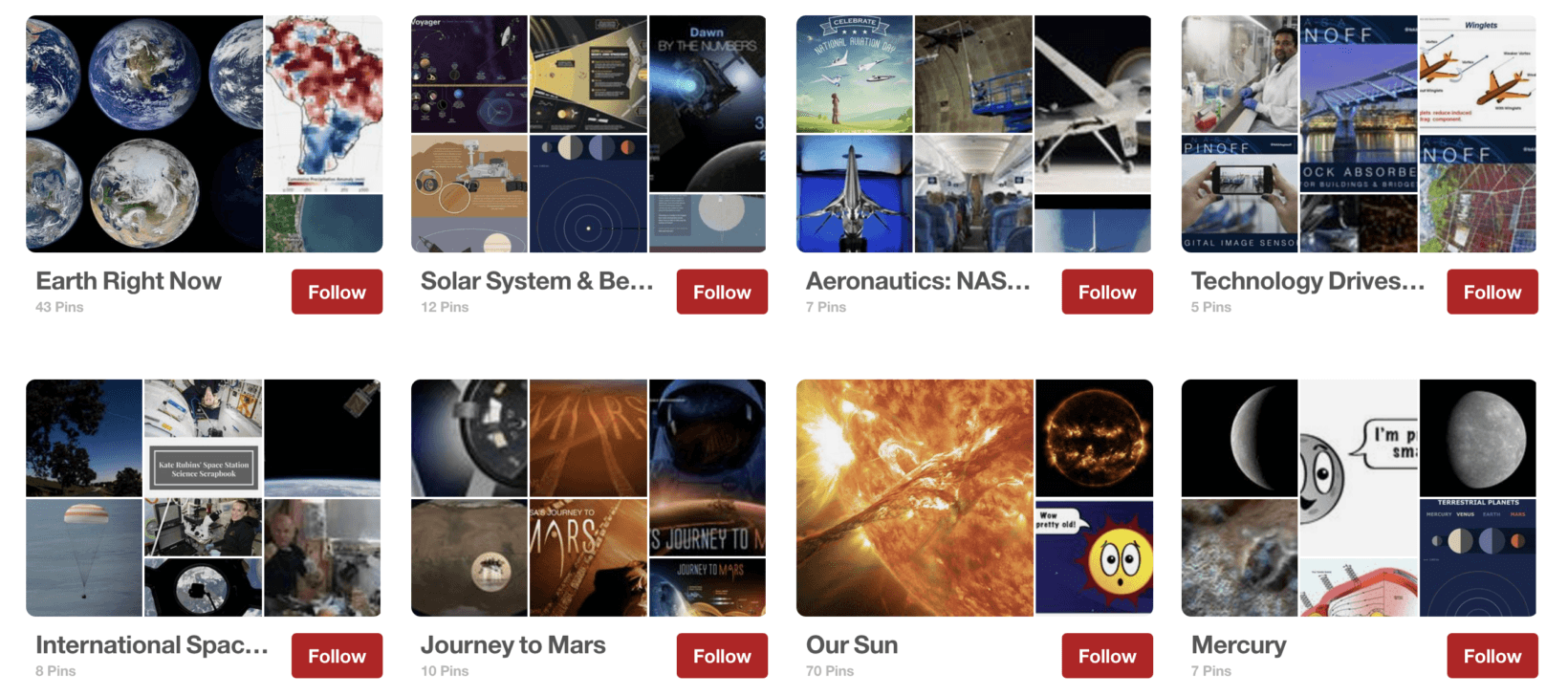 NASA's newly-launched Giphy and Pinterest pages are out of this world