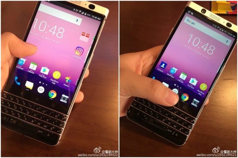 Leaked images show BlackBerry's final in-house smartphone