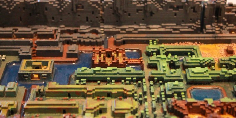 This 3D-printed map from the original Legend of Zelda was worth ...
