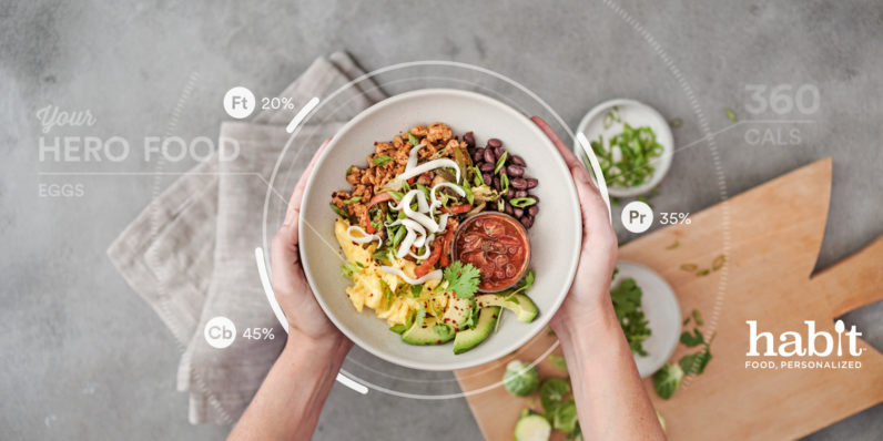 Habit sends you meals based on your unique DNA profile