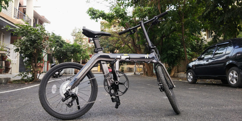 700bike Galaxy review: The sexiest folding bike is also the cleverest