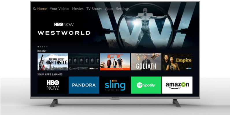 Amazon's Alexa will come baked in on select 4K TVs