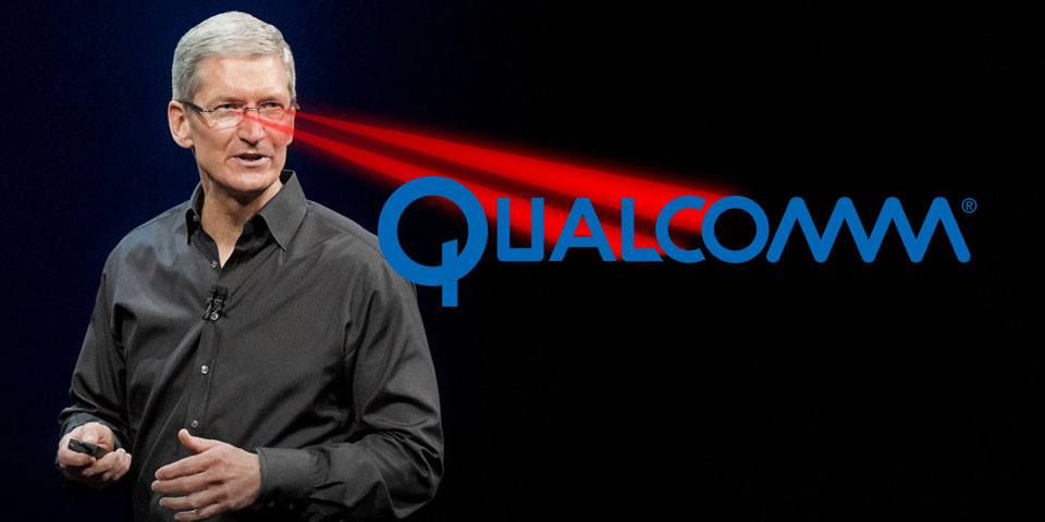 Apple sues Qualcomm for 1 billion, citing shady business practices