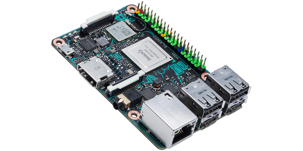 ASUS made a beefed-up Raspberry Pi rival that plays 4K video
