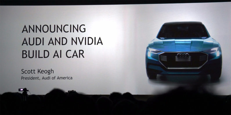 Audi is teaming up with Nvidia to build a self-driving car by 2020