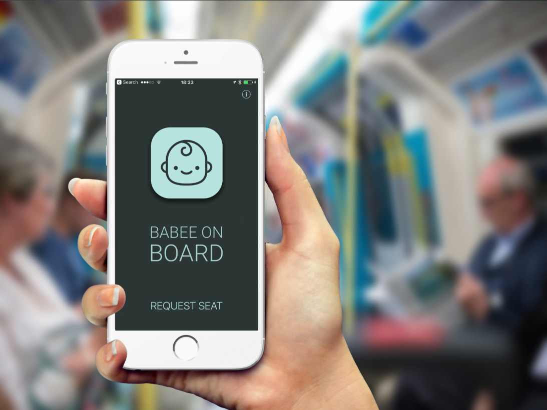This app tells inconsiderate commuters to stand up for pregnant women