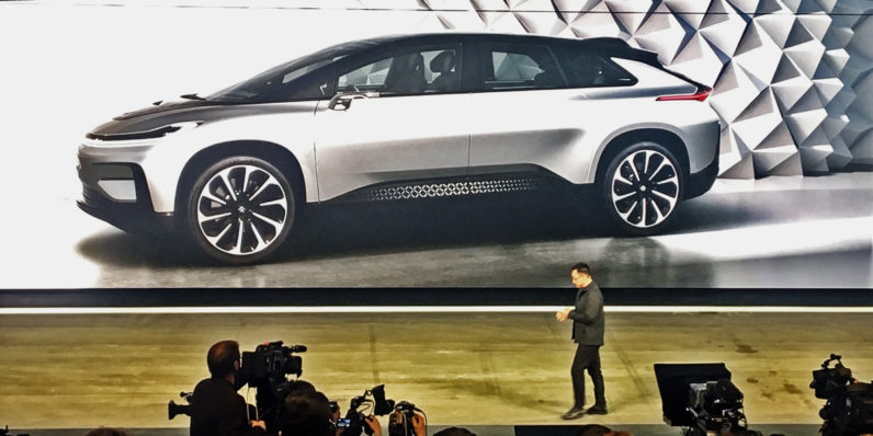 Faraday Future unveils the world's fastest electronic production car: 'It's faster ...