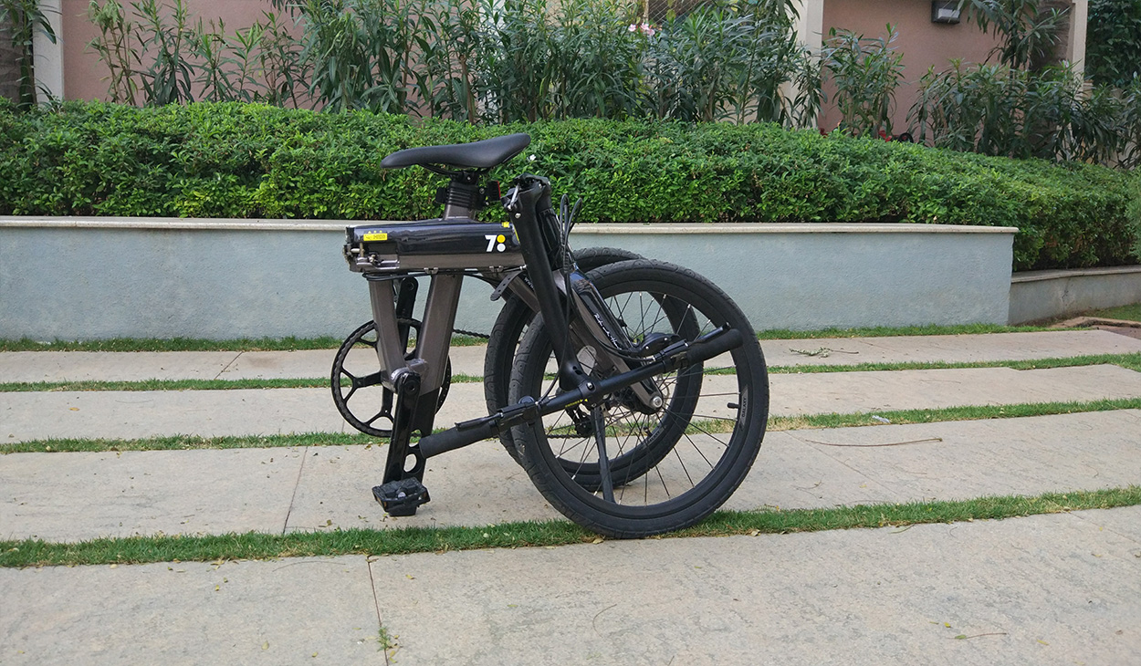 700bike Galaxy Review The Sexiest Folding Bike Is Also The Cleverest