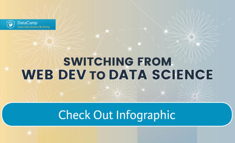 Python Web Development to Python Data Science