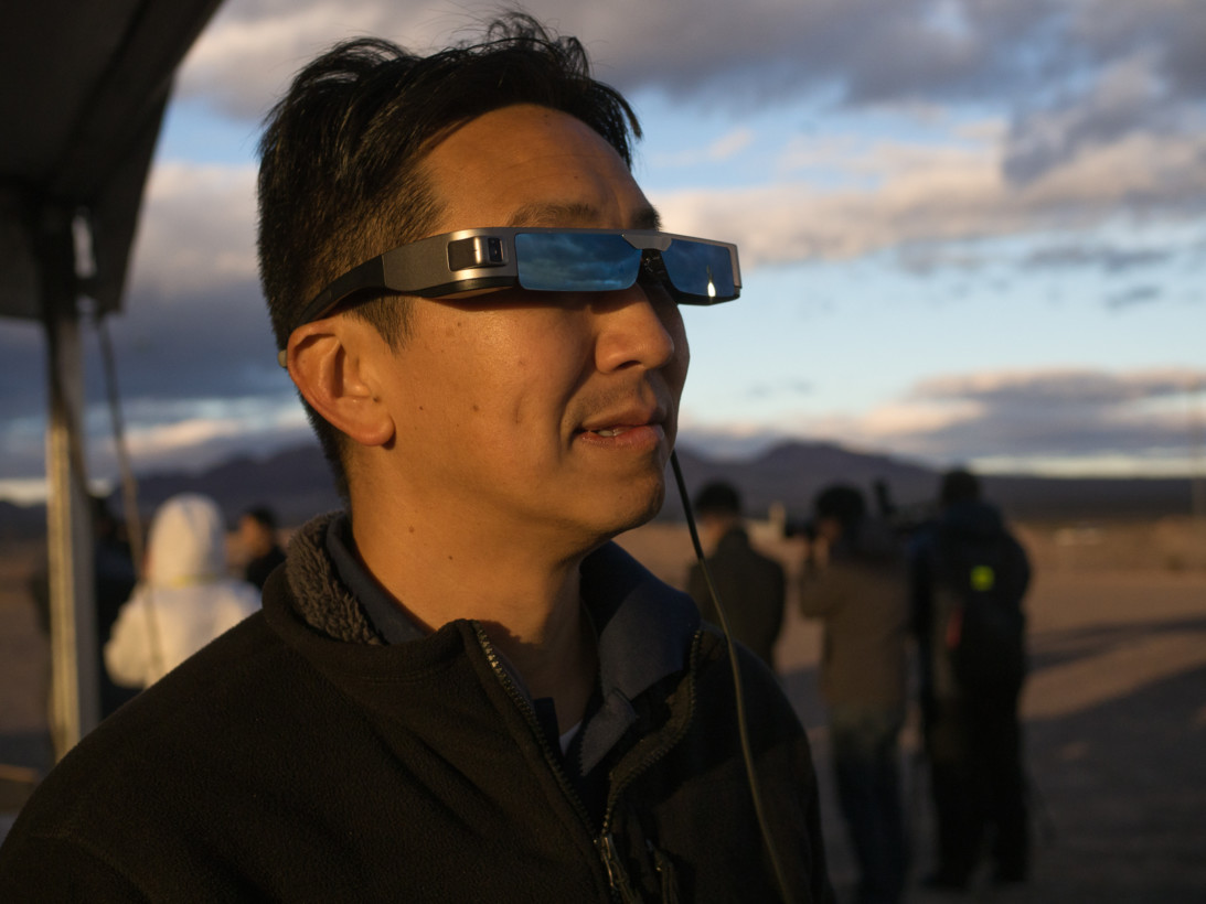 Epson's augmented reality headset lets you pilot a drone as God intended