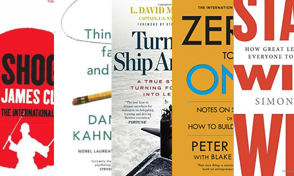 5 inspiring reads for aspiring entrepreneurs: top tech CEOs tip top books