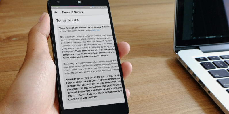 It's time for apps' terms and conditions to ditch the legalese
