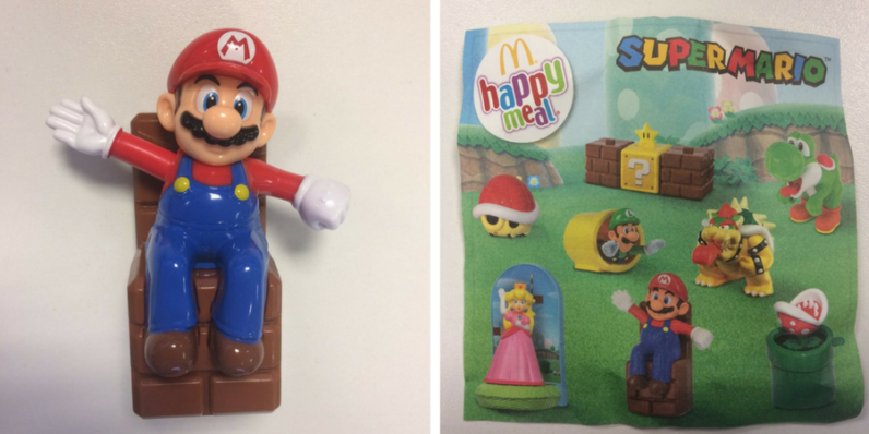 Mario and Luigi: Now a McDonald's Happy Meal toy