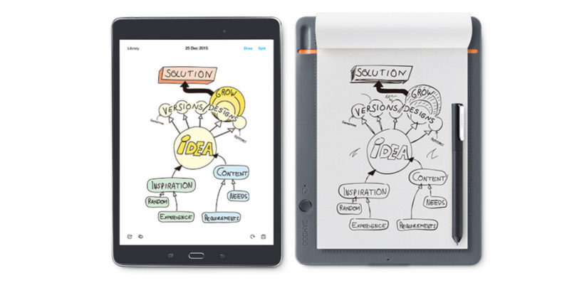 Bamboo Slate transforms your paper notes to digital images instantly
