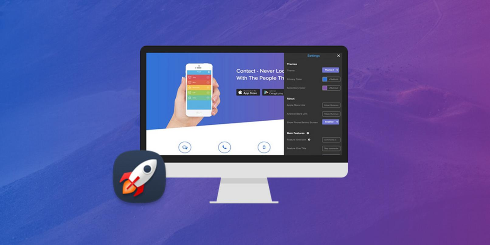 Help sell your apps with AppLandr's professional, auto-generated landing pages