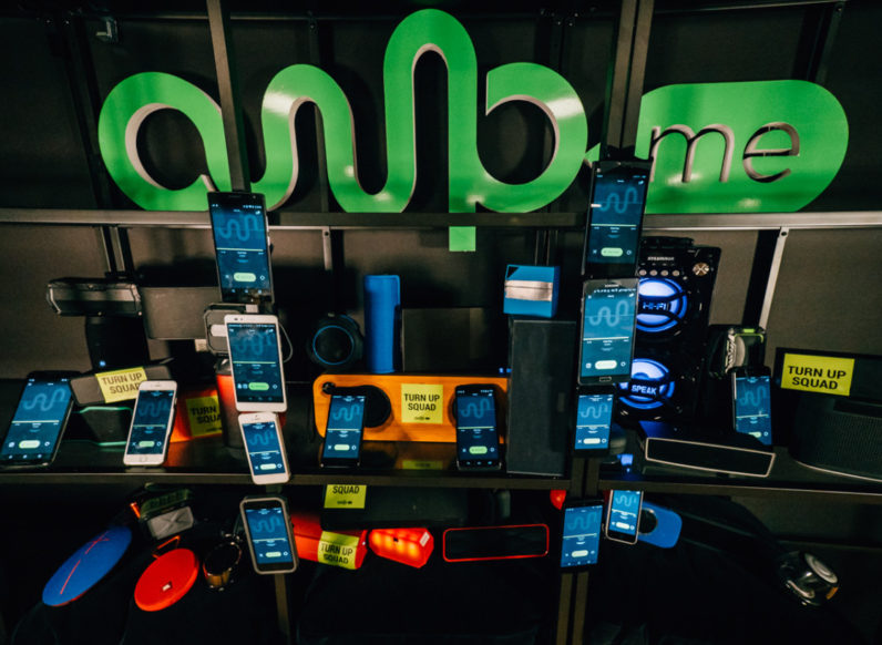 AmpMe is a party in your pocket that connects multiple Bluetooth speakers or phones