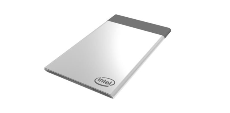 Intel's credit card-sized 'Compute Card' makes old devices feel new again