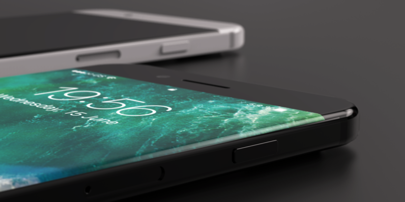 Concept art offers a glimpse into what the iPhone 8 could look like